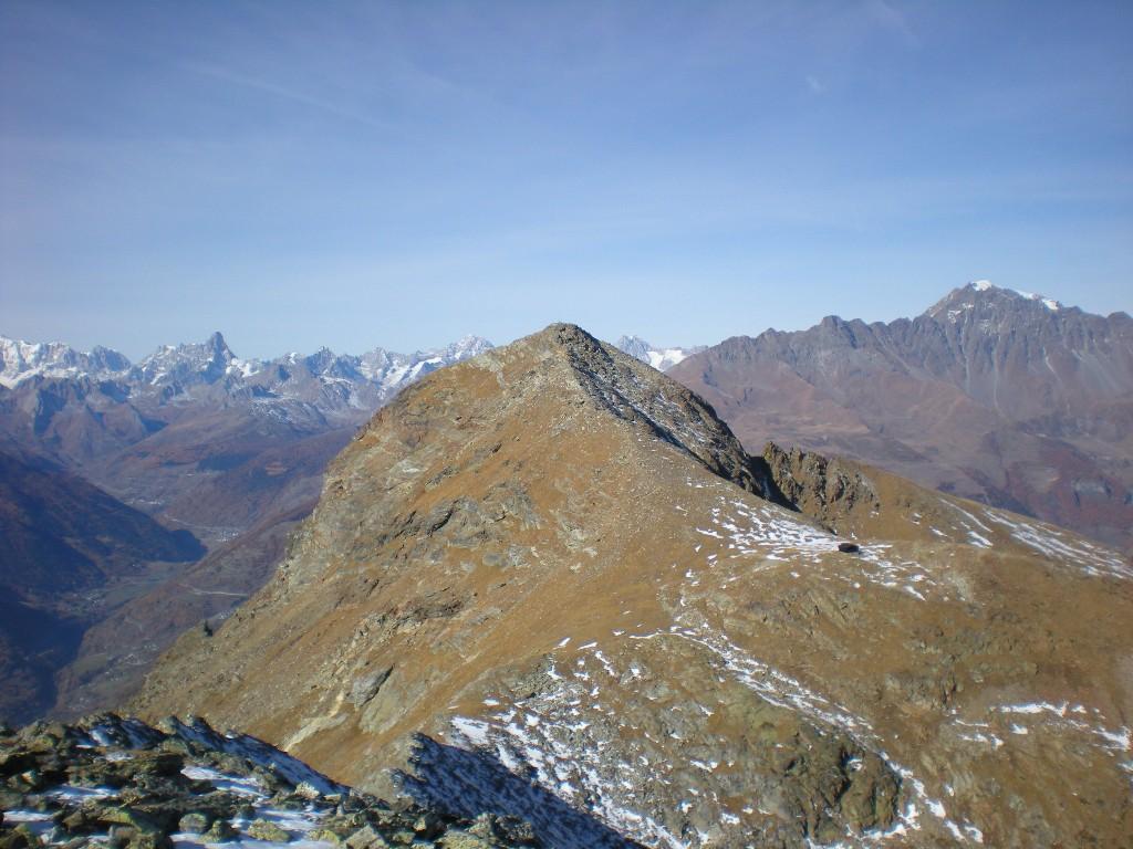 la becca vista dal Mont Mary