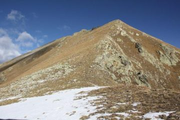 la cresta sud dal passo vallotta