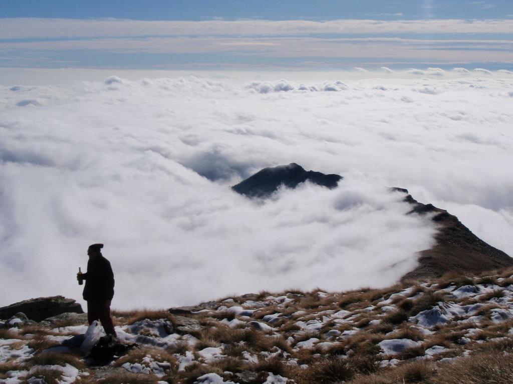 il mare di nuvole