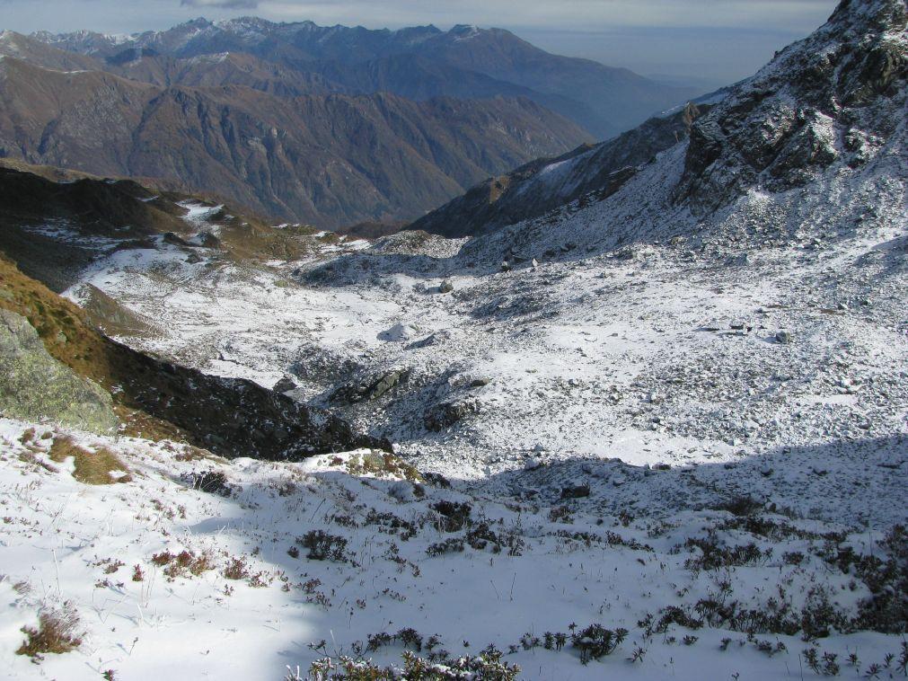 Maunero (Rocca) da Porcili per il Colle della Paglia o per la dorsale 2009-11-06