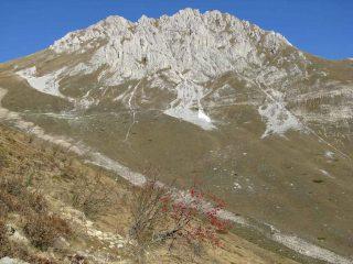 la Rocca d'Orel versione autunnale