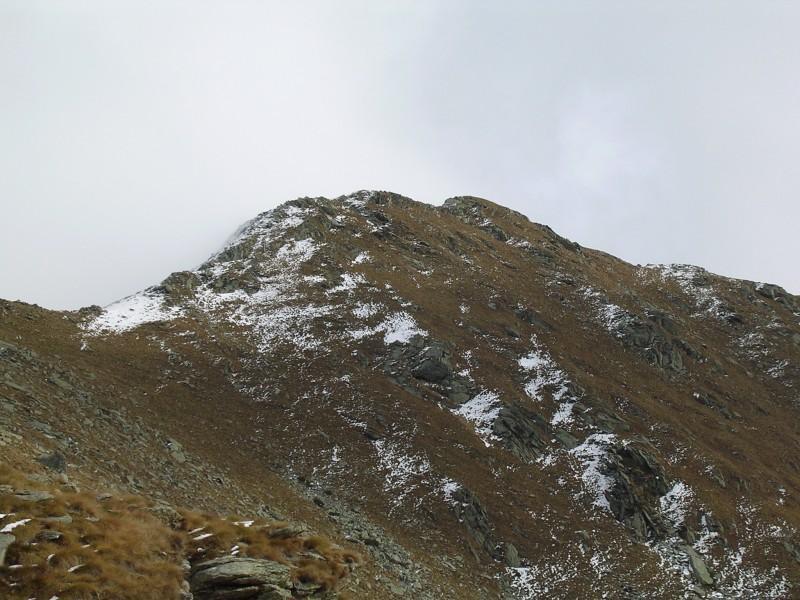 Verso la Quinseina - punta sud