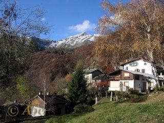Alpe Pogalti, sullo sfondo l'Eyehorn