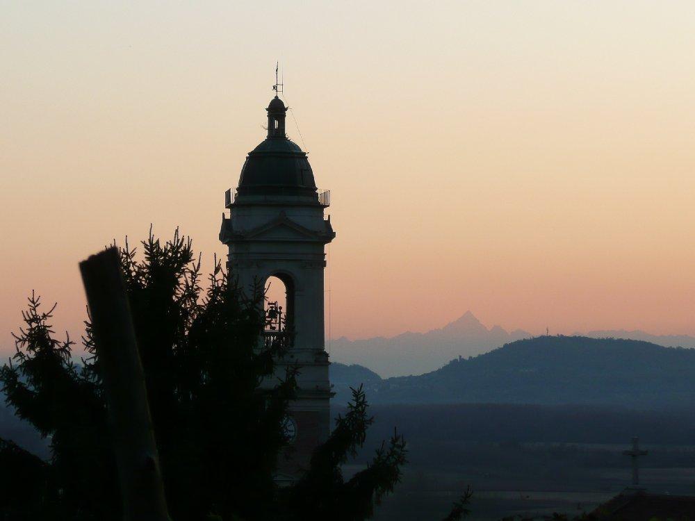 Viso e campanile Vestignè