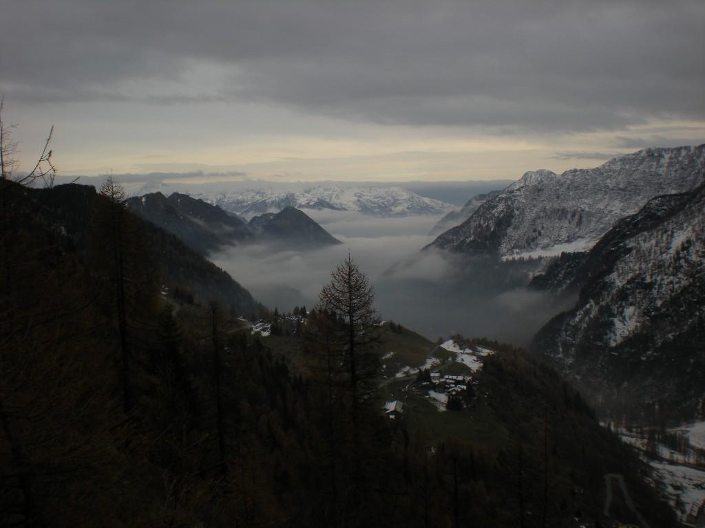 situazione neve a Mont Blanc
