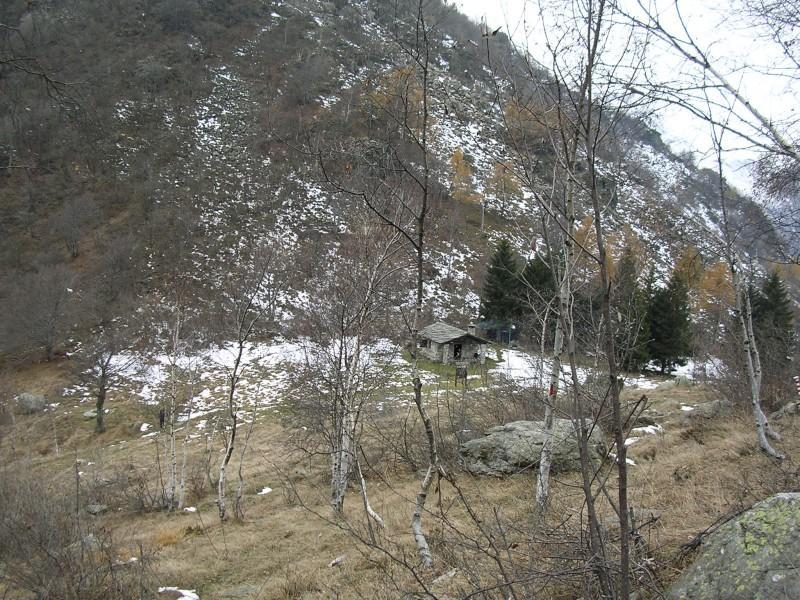 Cappella rifugio al colle Portia