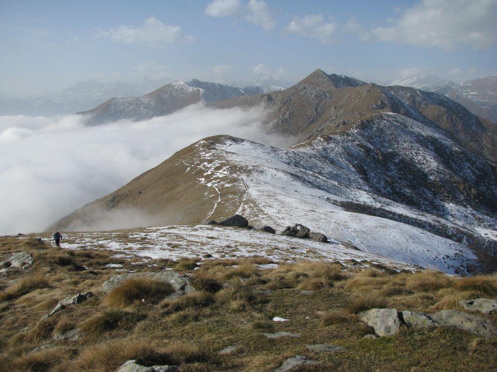 L'Uja di Corio dal Monte Soglio