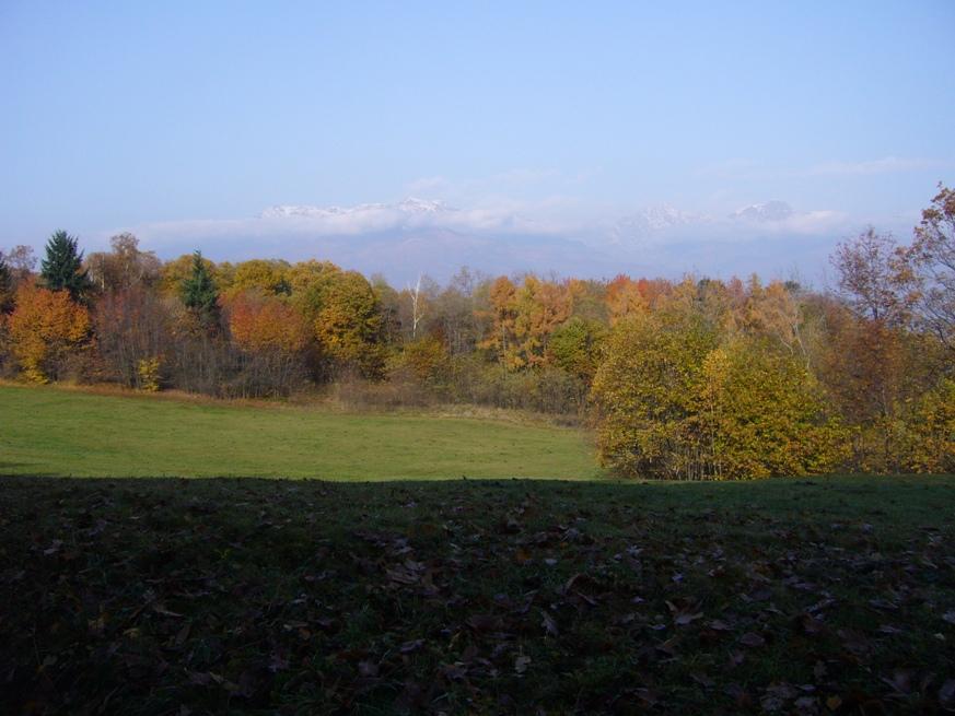 vista sulle montagne Biellesi
