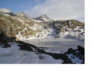 Il lago dietro la Torre e la P.Corna