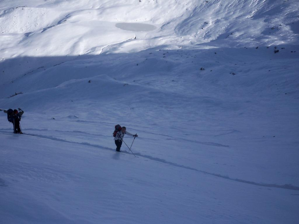 Roccenie (Monte) quota 2550 a S/E da Oncino 2009-11-20