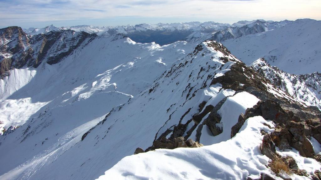 Parpaillon (Montagne de) dal Col de Vars per il Vallon du Crachet 2009-11-21