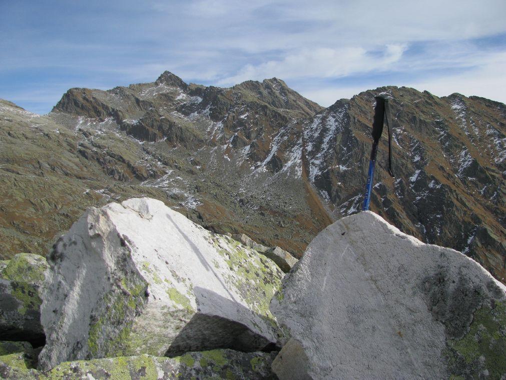 Il Monte Colombo dalla  Punta di Praghetta