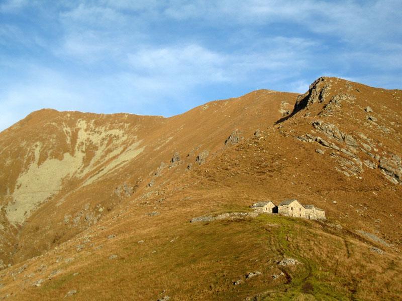 Le vette poco prima dell'Alpe Frigerola