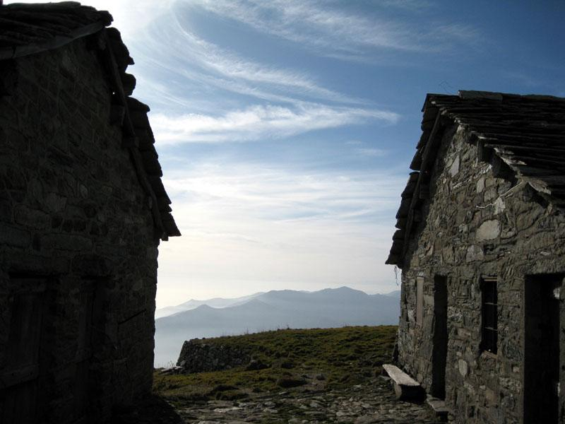 Pianura dall'Alpe Frigerola