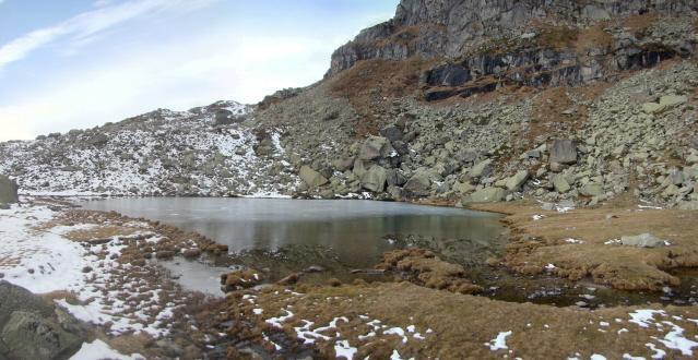 uno dei laghi di Sagnasse