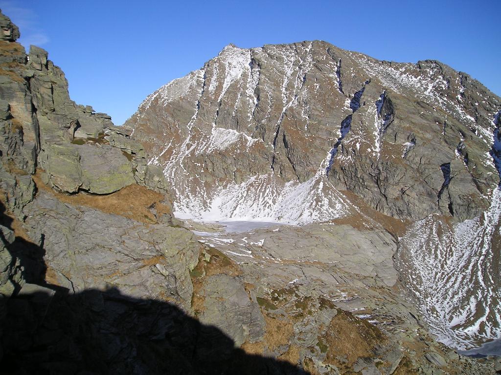 Il lago del Paione superiore