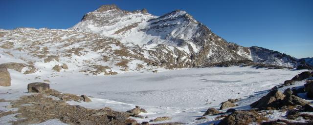al lago Gias di Beu p Fuora Percia e col della Terra