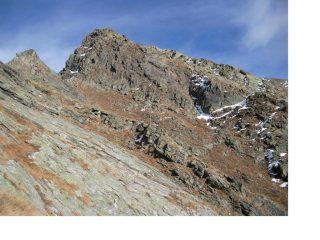 Panoramica della cresta ovest al M.Carnera