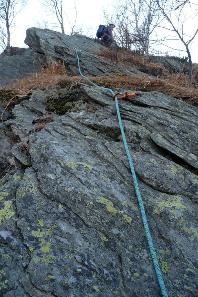 Baby Parey (Rocce del) Passeggiata dei Camosci + Cresta del Belvedere 2009-11-28
