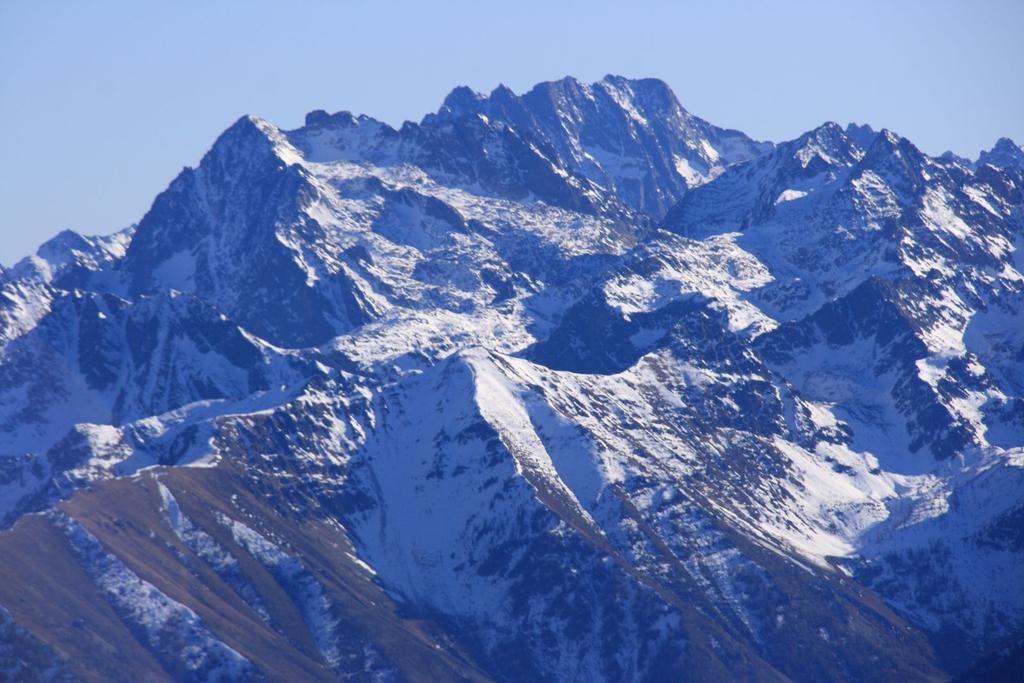 panorami dalla cima : il Massiccio dell'Argentera (28-11-2009)