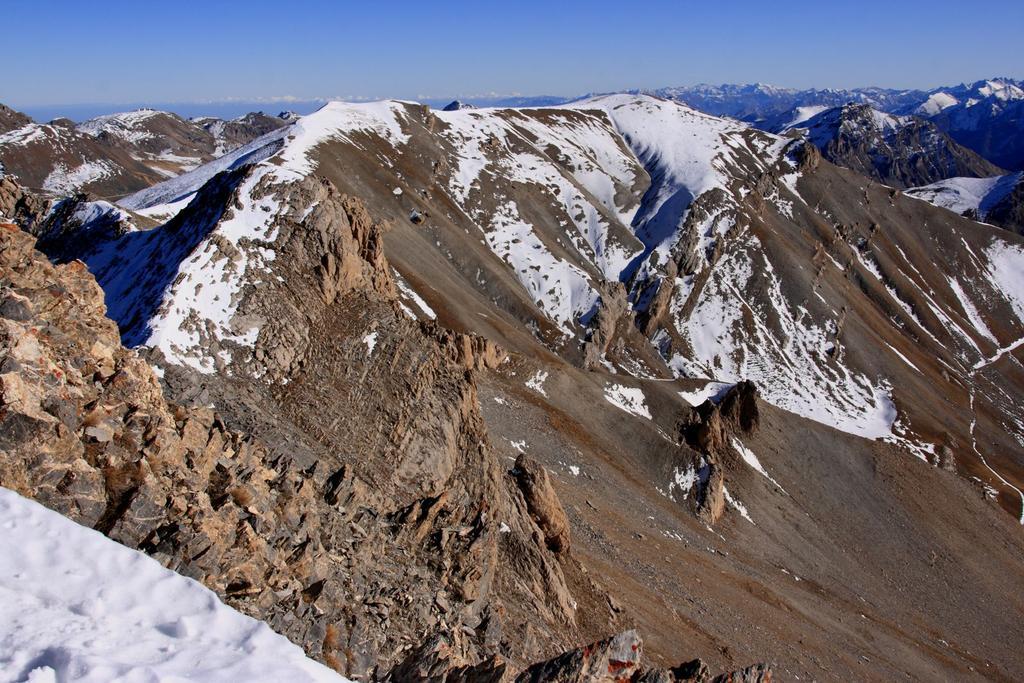 panorami dalla cima : Monte Bodoira (28-11-2009)