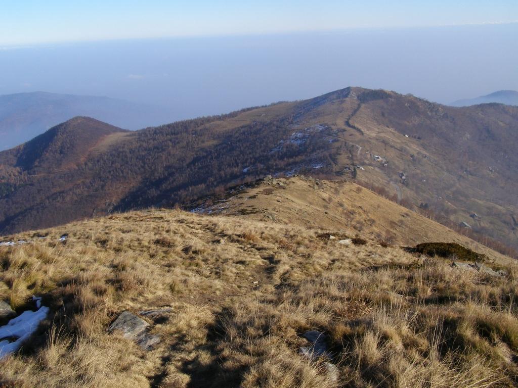 Dalla cima al colle Lazzarà