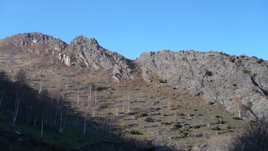 Cresta rocce del Colletto