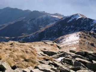 La cresta fino alla Busiera e al Roc delle Teste