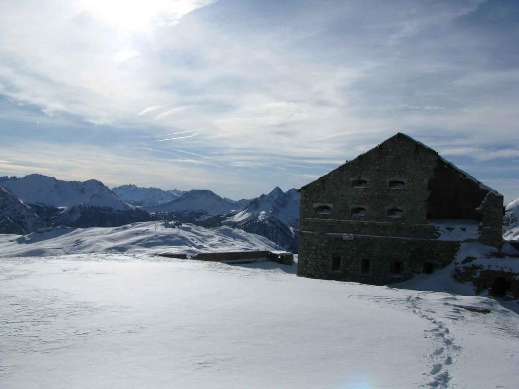 ecco il famoso fortino Gondran
