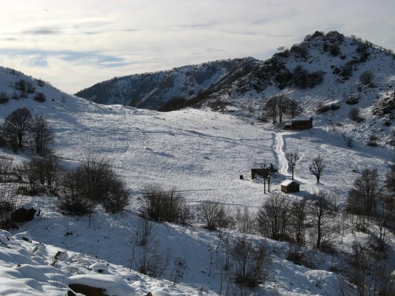Monte Arpone sullo sfondo