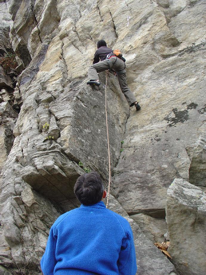 primi contatti con la roccia fredda