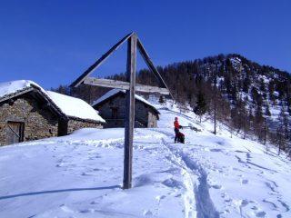 A sin. Alpi Leretta e a des. Punta Leretta