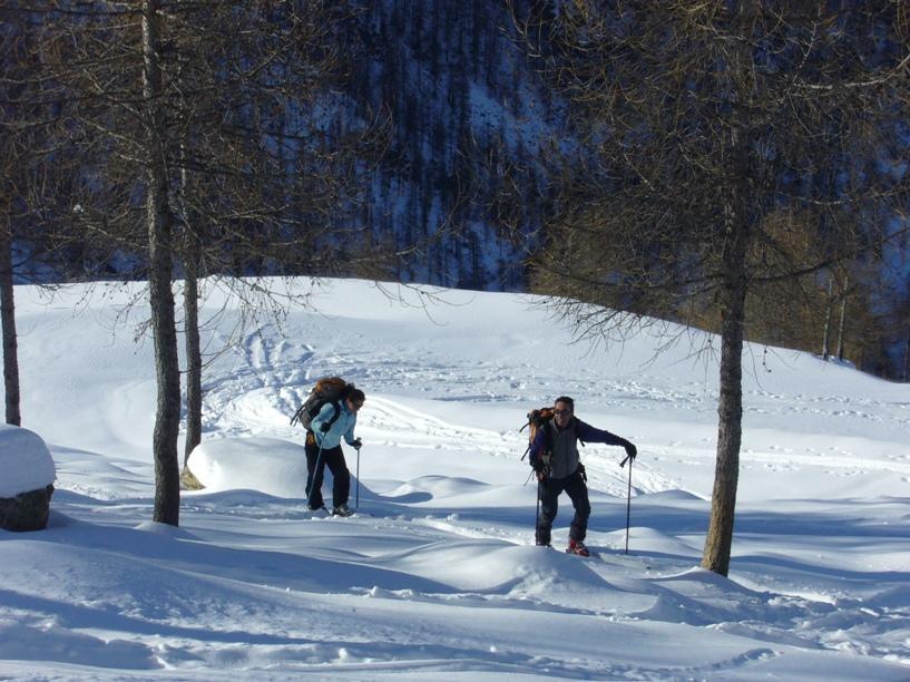 Salendo al Monte Portola