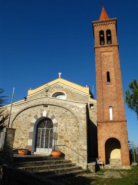 La chiesetta della Madonna della Guardia