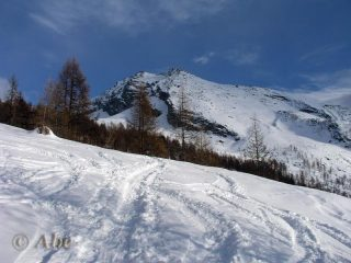 Pizzo Giezza dall'Alpe Paione