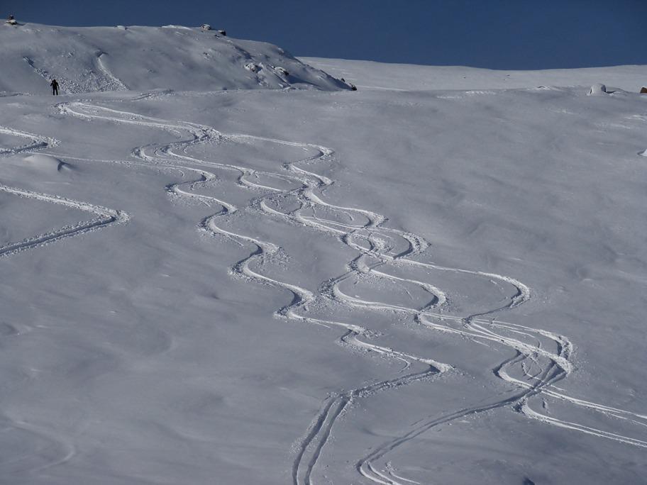 Ricami sulla neve