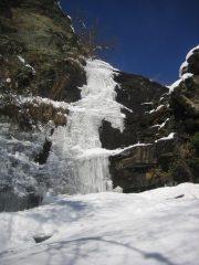 la cascata di Melle