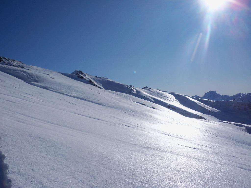 neve luccicante