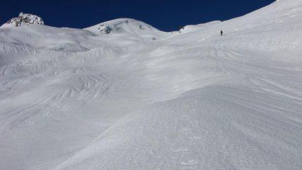 i pendii che portano al Colle Soleglio Bue (27-12-2009)
