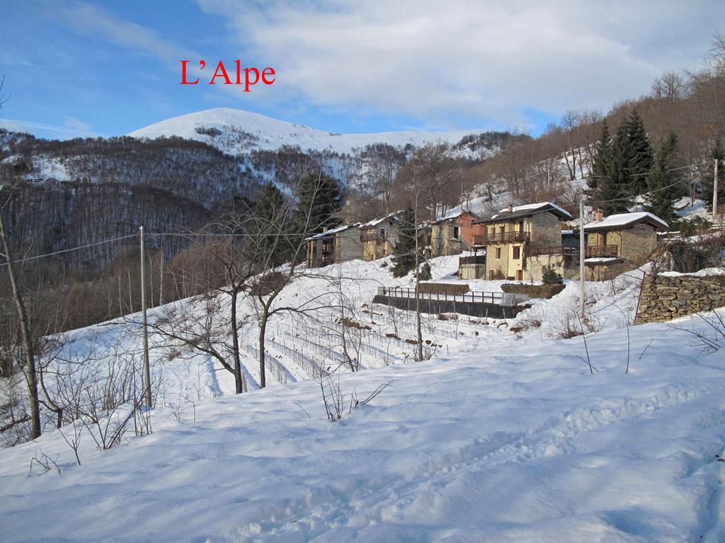L'Alpe dalla borgata Chiotti Rosa