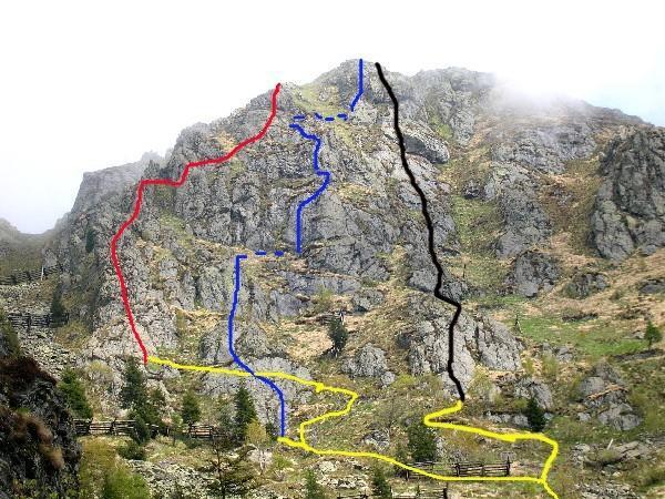 Via della Jella  (linea nera a destra)