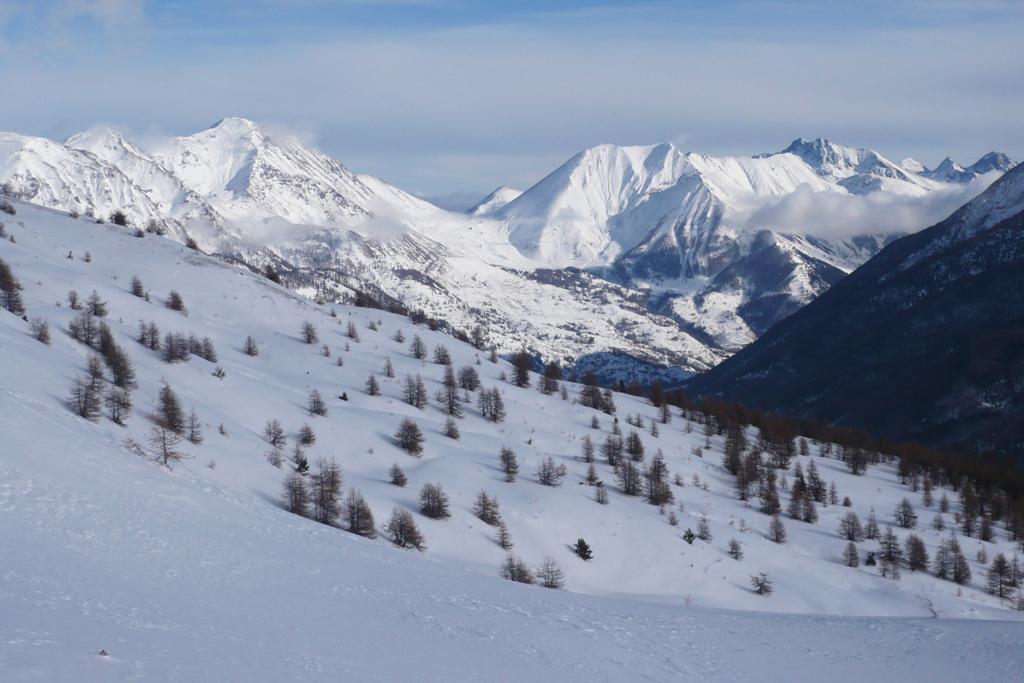Vista verso il Monte Pelvo