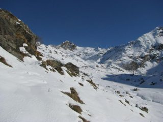Vista sul Vallone dall'Alpe Sapello della Brenga