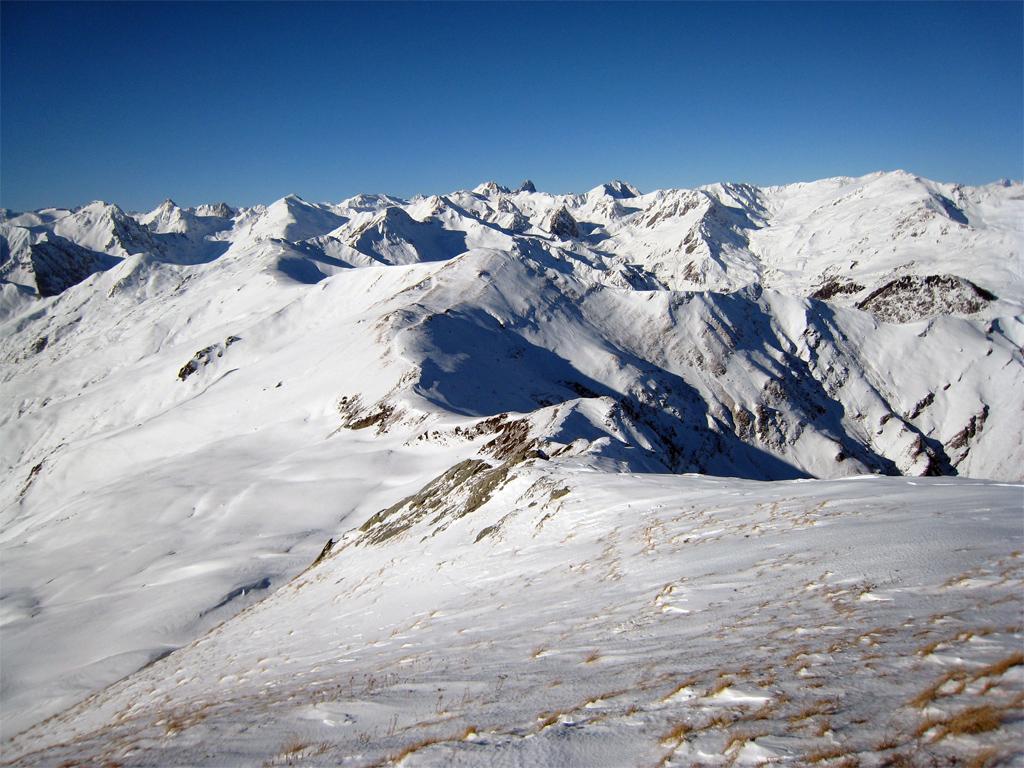 Panorama verso la Val Maira