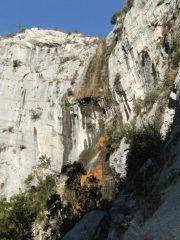 La cascata che da il nome al settore