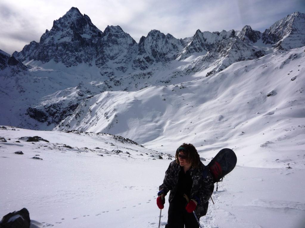Luke alle prime fatiche alpine