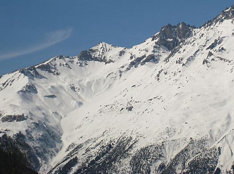 Bellecote (Pointe de) da Sollières per il versante Est il Col de la Faculta 2008-03-16