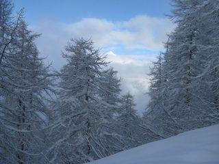 il Rocciamelone sbuca dalle nebbie