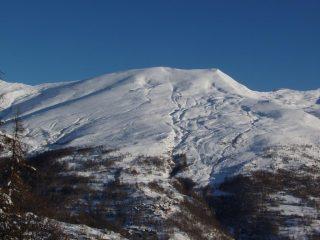 Tanta neve sul Briccas