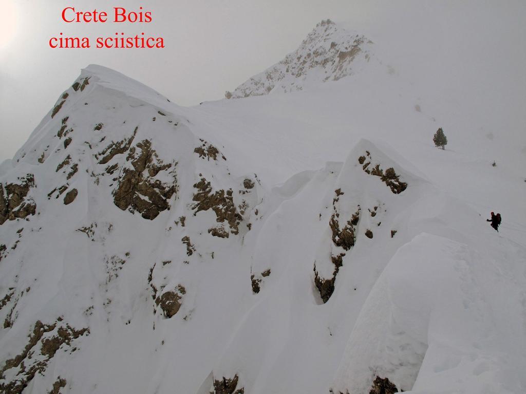 la cima sciistica della Crete du bois noir